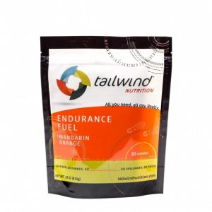 Packet of Tailwind Nutrition orange endurance fuel